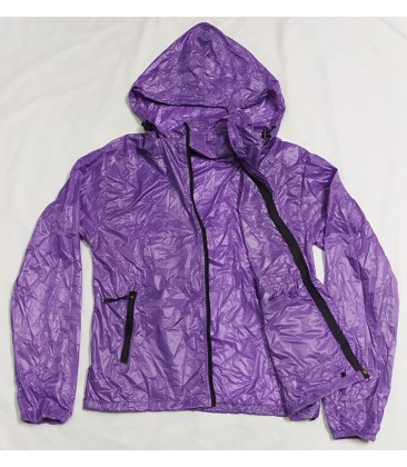 Purple windcheater