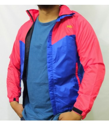 Windcheater (Double Color Jacket with Net Inside)