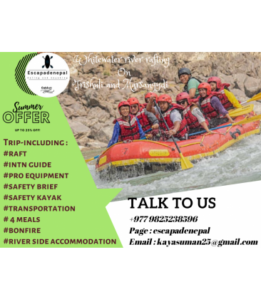 River rafting trip