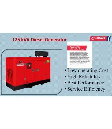 125 kVA Diesel Generator (Eicher-Volvo)