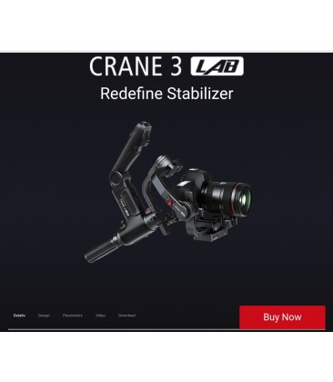 Zhiyun-Tech CRANE 3 LAB Handheld Stabilizer