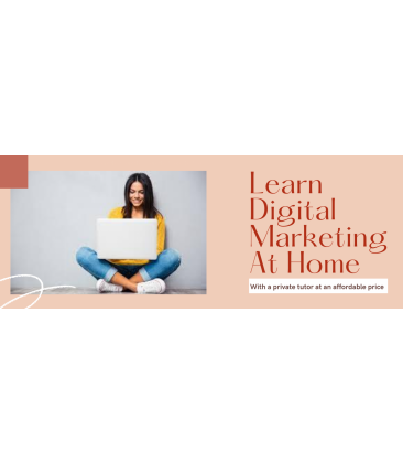 Digital Marketing Course at home