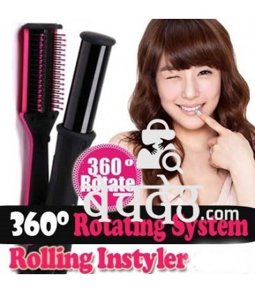 Instyler for curly and straight