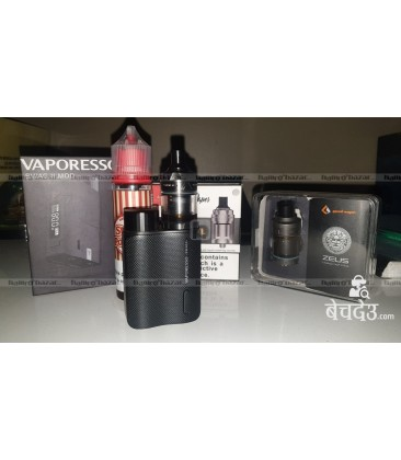 Vaporesso swag 2 and intake mtl rta and zeus rta